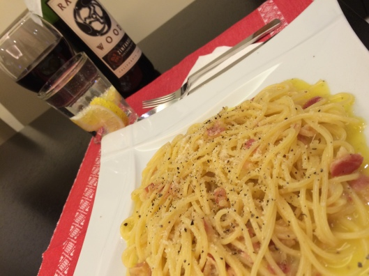 #ThrowbackThursday Carbonara